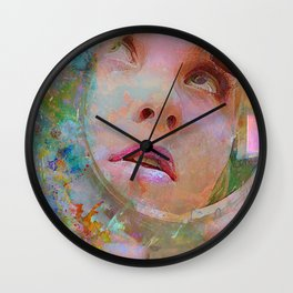 Maquillage Wall Clock
