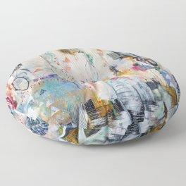 """Solstice"" Original Painting by Flora Bowley Floor Pillow"