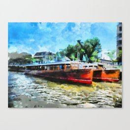 Costa del Tigre Canvas Print