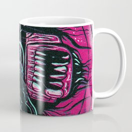 Pink Crazy Fella Coffee Mug