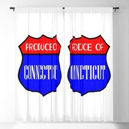 Produce Of Connecticut Blackout Curtain