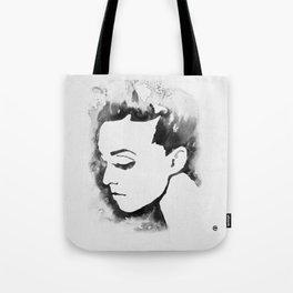 Portrait  (Ink Painting) Tote Bag
