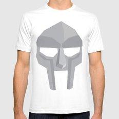 MF Doom Mens Fitted Tee MEDIUM White