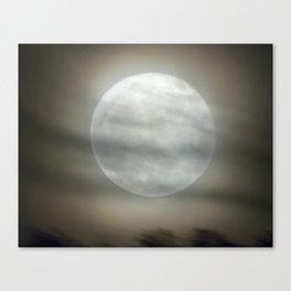 The Moon by Murray Bole Canvas Print