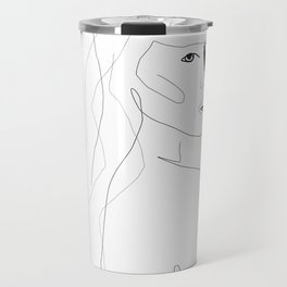 Face Of Art Travel Mug
