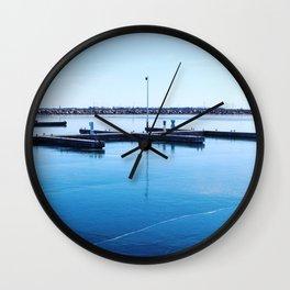 Docks Wall Clock