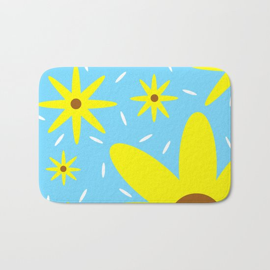 Nothing But Flowers Bath Mat