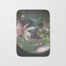 zen garden in a bubble Bath Mat