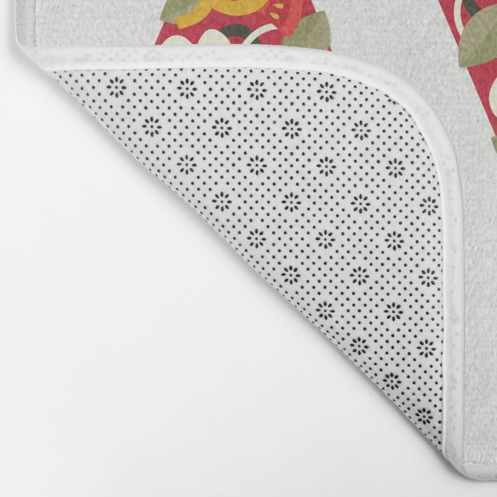 PIZZA POWER - VEGO VERSION Bath Mat
