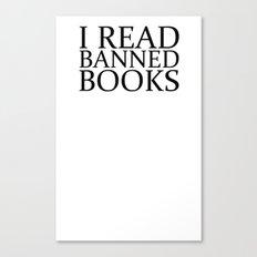 Banned Books Canvas Print