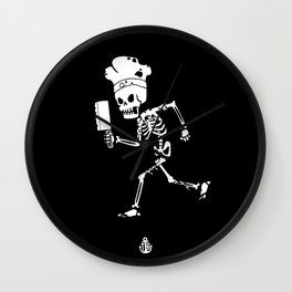 Miss Peregrine skeleton 1 Wall Clock