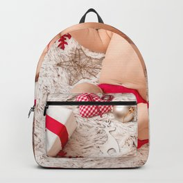 Picture Infants New year child Snowflakes Winter h Backpack