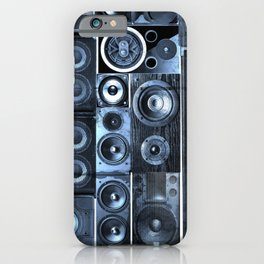 Music Speaker Sound Stack iPhone Case