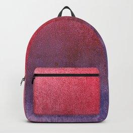 red-violet watercolor Backpack