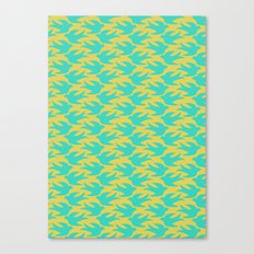 Flight: Blue Canvas Print