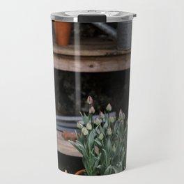 Spring Garden Shed Travel Mug