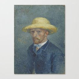 Portrait of Theo van Gogh Canvas Print