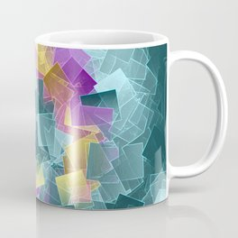 little sqares and rectangles pattern -2- Coffee Mug