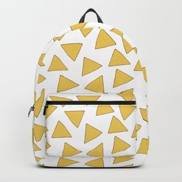 NACHOS NACHO CHIPS FAST FOOD PATTERN Backpack