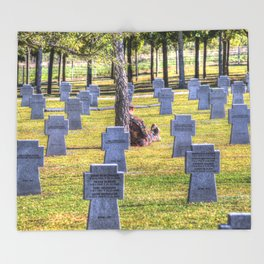 The Futility Of War Throw Blanket