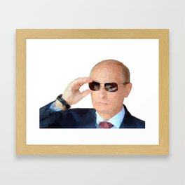 Mr. Putin Framed Art Print