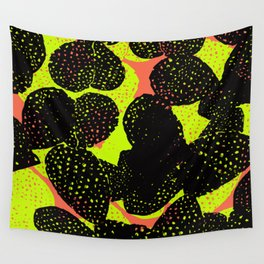 illuminous cactus Wall Tapestry
