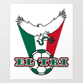 Mexico El Tri ~Group F~ Art Print