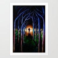 oasis Art Prints featuring Oasis by nicebleed