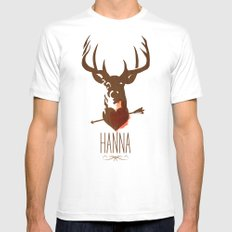 HANNA film tribute poster MEDIUM White Mens Fitted Tee