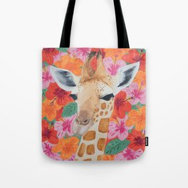George the Giraffe Tote Bag