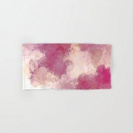Mauve Dusk Abstract Cloud Design Hand & Bath Towel