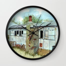 Farm Outbuilding with a Difference. Wall Clock