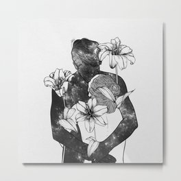 You are my flowery drug. Metal Print