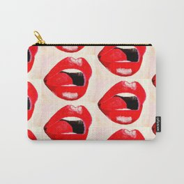 Red Lips #society6 #decor #buyart Carry-All Pouch