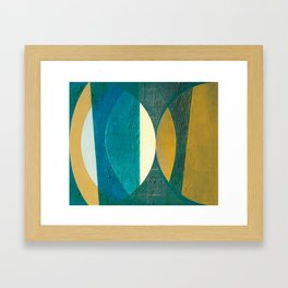 Aimlessly in Circles 1 Framed Art Print