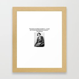 Joan Robinson Framed Art Print