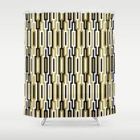 kilim Shower Curtains featuring kilim 01 by Ioana Luscov