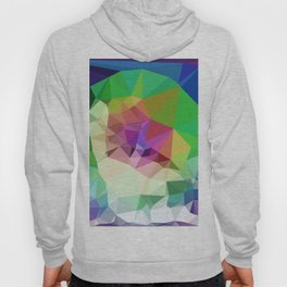Rainbow Print Pattern Graphic LGBT Abstract Hoody