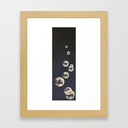 Bluebbles Framed Art Print