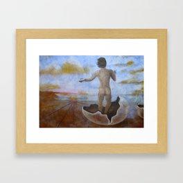 EGG NOSTIC ~ Life of an Artist Framed Art Print