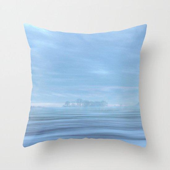 Winter Memories III Throw Pillow