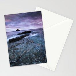 Gull Rock Sunset Stationery Cards