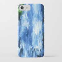 waterfall iPhone & iPod Cases featuring Waterfall by Paul Kimble