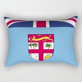 Fiji flag emblem Rectangular Pillow