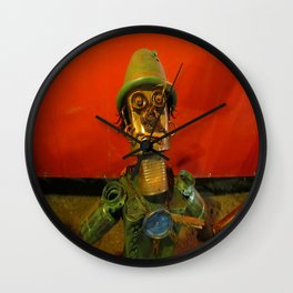 """the pretender"" Wall Clock"