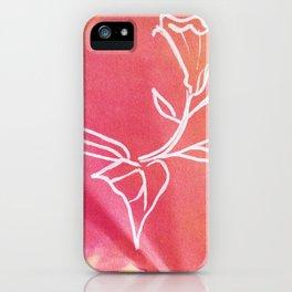 Floral No.22 iPhone Case