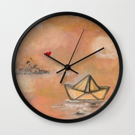 The things that I love 2 Wall Clock