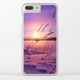 Wind of change Clear iPhone Case