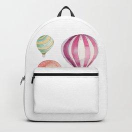 Hot Air Balloon watercolor Backpack