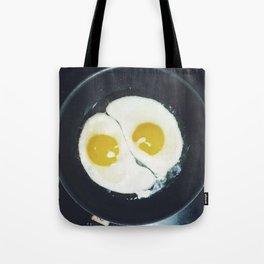 Yin-yang breakfast Tote Bag